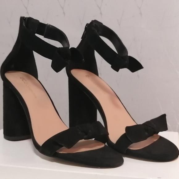 BCBGeneration block heel sandals